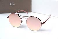 Очки женские от солнца Dior Oracle розовые, магазин очков