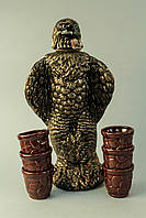 Штоф Орел с рюмками