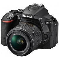 Цифровой фотоаппарат Nikon D5500 18-55 VR II kit Black (VBA440K001), фото 1