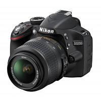 Цифровой фотоаппарат Nikon D3200 kit 18-55VRII + SLR Shoulder Bag (VBA330KV08), фото 1