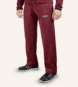 Спортивные брюки мужские 7312 красный