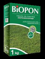 Удобрение в гранулах BIOPON для газонов против сорняков, 1 кг