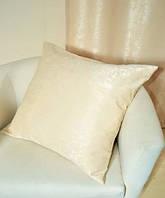 Подушка однотонная Софт, размер 40х40см (наволочка+подушка)