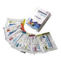 Препарат для повышения потенции у мужчин быстрого действия - Камагра гель, 100 мг  7 пакетиков