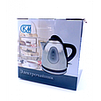 Чайник электрический KM081 электрочайник 1л 1200 Bт, фото 3