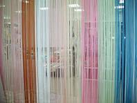 Жалюзи из тканей бриз разноцветные производство под заказ в Одессе