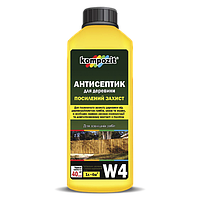Антисептик для усиленной защиты W4 Kompozit® 5л