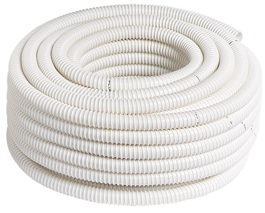 Трубка дренажная ПВХ 20/30 для кондиционера спиральная с ультрафиолетовой защитой
