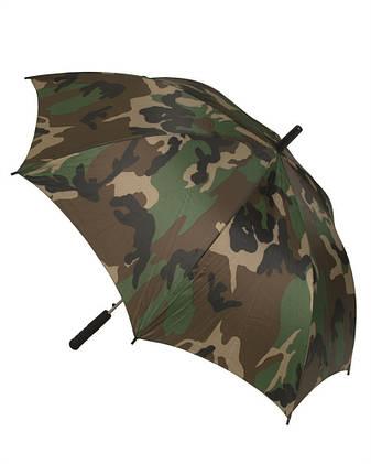 Зонтик военный (Woodland) Mil Tec Sturm, фото 2