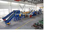 Линия мойки ПЭ и ПП пленки (производительность 500 кг/час)