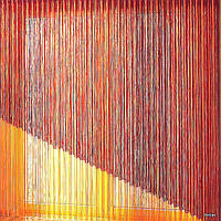 Жалюзи веревочные Бриз красный 6400 производство по замерам под заказ