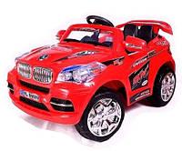Детский Электромобиль Джип BMW X8 красный на радиоуправлении