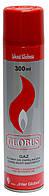 Газ для зажигалок GLOBUS 300мл, Польша, (40шт./ящ.)