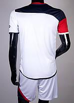 Футбольная форма Europaw 008 бело-красная, фото 2