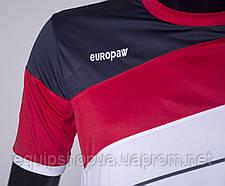 Футбольная форма Europaw 008 бело-красная, фото 3