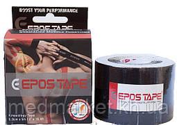 Кинезиологический тейп EPOS TAPE 5м, чёрный