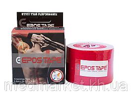 Кинезиологический тейп EPOS TAPE 5м, красный