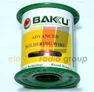 Припой BAKKU проволочный Solder wire BK10003 DIA 0,3mm (100g)