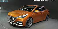Компания Hyundai раскрыла прототип нового «Акцента»