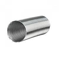 Гибкий алюминиевый воздуховод  Алювент Н 100/1 (т/п)