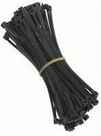 Стяжка для кабеля (черная)