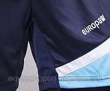 Футбольная форма Europaw 008 т.сине-голубая, фото 3