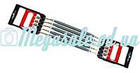 Эспандер грудной пружинный универсальный 2в1 для фитнеса: 5 пружин