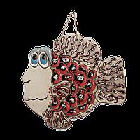 """Сувенир керамический """"Рыбка чешуя"""" большая"""