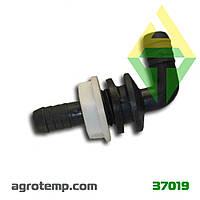 Уголок шланга указателя уровня жидкости AgroPlast