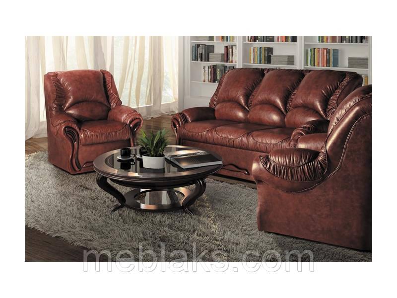 """Гарнитур Рюшо (диван + 2 кресла) - Интернет - магазин мебели """"МЕБЛАKС"""" в Черкассах"""