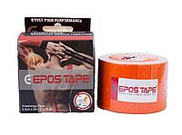 Кинезиологический тейп EPOS TAPE, оранжевый