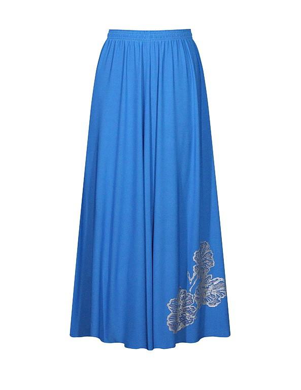 Летняя юбка солнце Маки