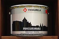 Краска для металлических поверхностей с противокоррозионным пигментом Панссаримаали Тикурила, база С, 9л