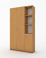 Шкаф комбинированный для одежды БШ-К-001 1110x370x1850 мм