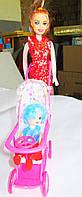 Кукла с коляской и пупсом 339-1/2214