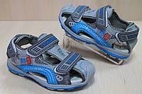 Босоножки на мальчика спорт с закрытым носком тм JG р. 21,23,24,25