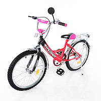 Велосипед EXPLORER 20 T-22011 crimson + black, детский велосипед