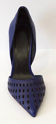 Туфли на шпильке синие Mellanee 1512, фото 2