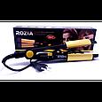 Плойка выпрямитель для волос Rozia HR705 турмалиновый выпрямитель, для закрутки локонов, фото 3