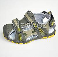 Босоножки, сандалии для мальчика Tom. M Спорт 29р. желтый