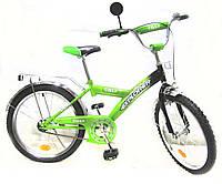 Велосипед EXPLORER 20 T-22013 green + black, детский велосипед