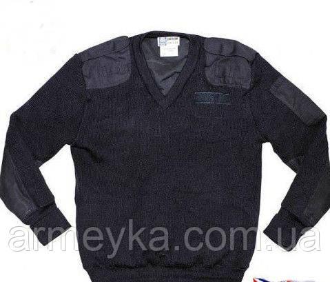 Шерстяной полицейский свитер свитер. Великобритания, оригинал. Сорт 1