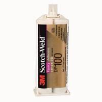 Двухкомпонентные конструкционные эпоксидные клеи 3M™ Scotch-Weld™ DP100. Прозрачный