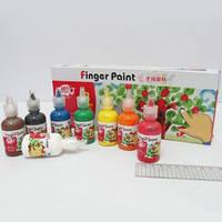 Пальчиковые краски 8х30 мл, RFC0830