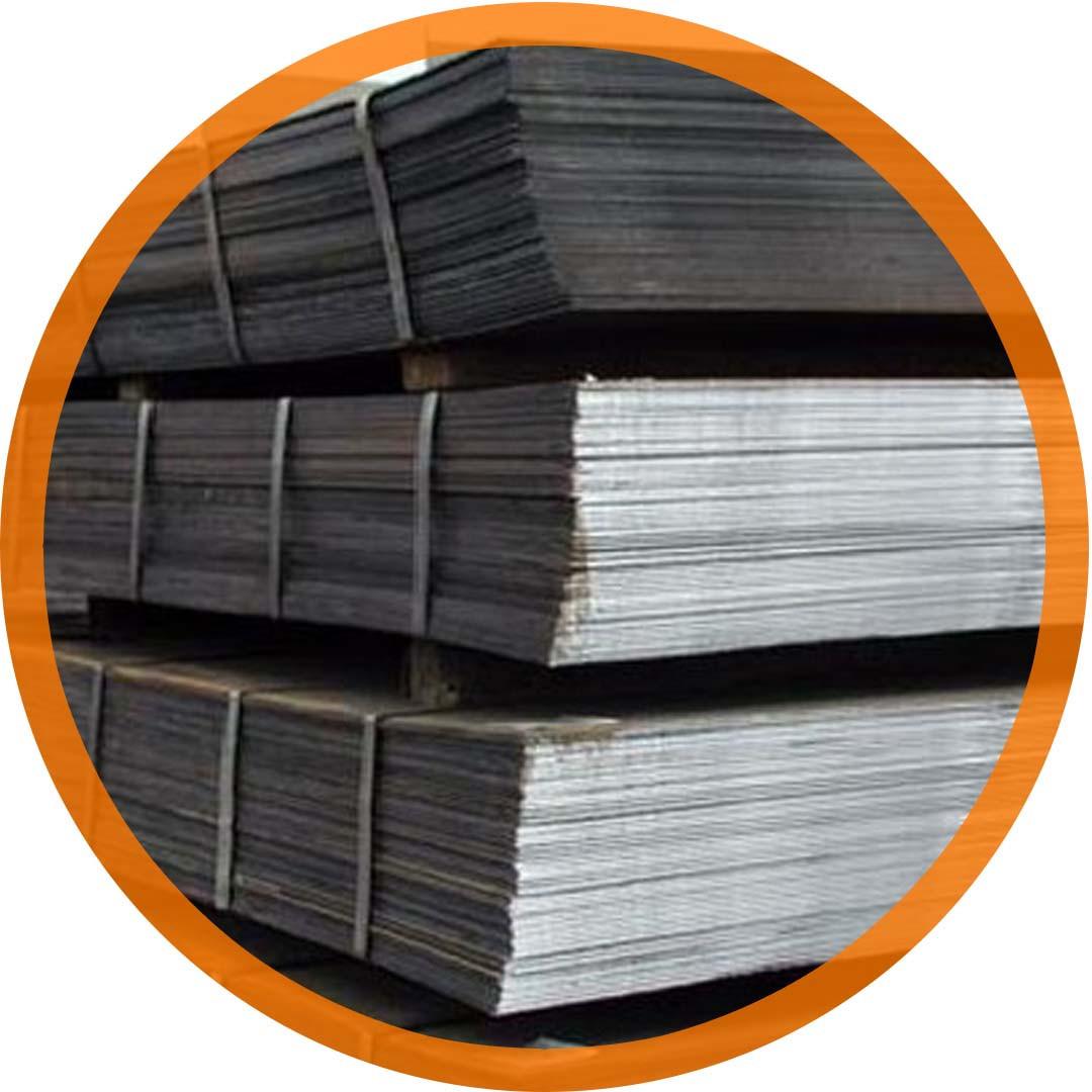 Лист стальной горячекатаный 80х2000х6000 по ГОСТ 19903-90 ст. 3пс/сп