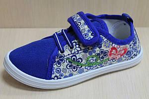 Детские мокасины на девочку, стильная текстильная обувь р. 29