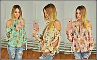 Блуза шифоновая lch