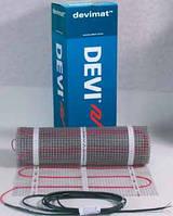 Теплый пол электрический нагрев. мат DANFOSS Devimat DTIF-150 на 230 В, S=0,5x16 м2