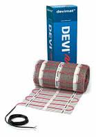 Теплый пол электрический нагрев. мат  DANFOSS Devimat DTIF-200 на 220 В, 260 Вт, 1,45 м2