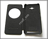 Черный кожаный чехол-книжка Nillkin QIN Flip Cover для Asus Zenfone MAX ZC550KL Z010D Z010DA, фото 4